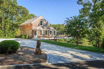 Cutchogue Single Family Home For Sale: 1320 Little Peconic B Rd