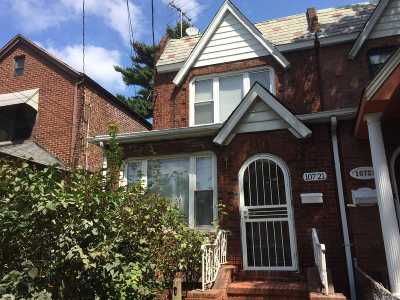 Ozone Park Single Family Home For Sale: 107-21 91 St