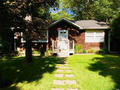 Hampton Bays Single Family Home For Sale: 17 Old Squiretown R Rd