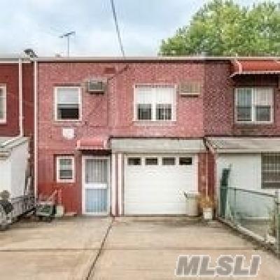 Elmhurst Single Family Home For Sale: 84-37 57 Rd