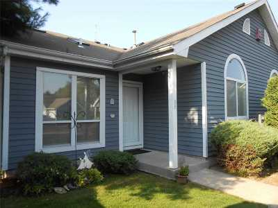 Middle Island Condo/Townhouse For Sale: 835 Spring Lake Dr