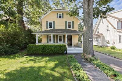 Rockville Centre Single Family Home For Sale: 332 Lakeview Ave