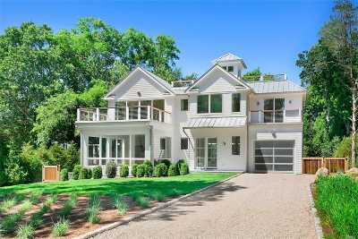 Sag Harbor Single Family Home For Sale: 9 South Harbor