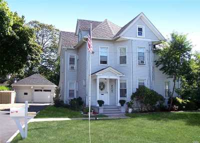 Patchogue Multi Family Home For Sale: 143 Maple Ave