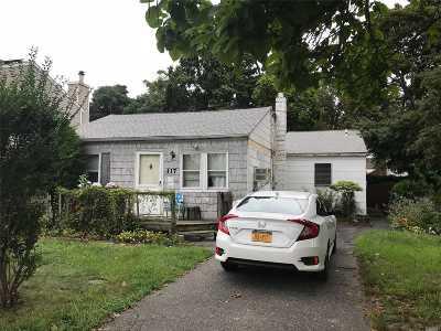 N. Babylon Single Family Home For Sale: 117 Cherubina Ln