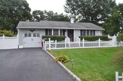 S. Setauket Single Family Home For Sale: 96 E Fawn Ln