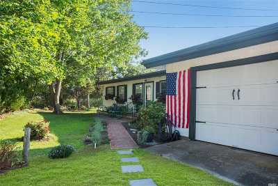 Hampton Bays Single Family Home For Sale: 6 Wells Rd