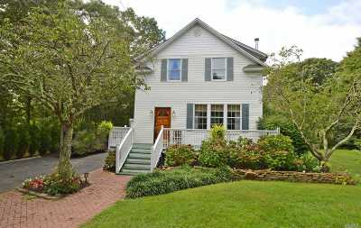 Center Moriches Single Family Home For Sale: 20 Miller Ave