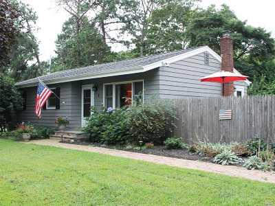 Hampton Bays Single Family Home For Sale: 8 Florence Rd