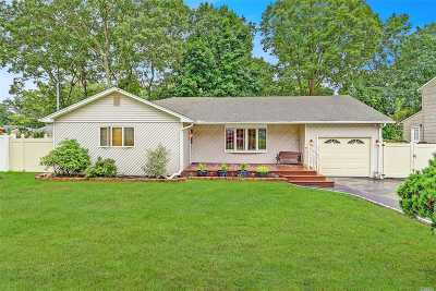 Ronkonkoma Single Family Home For Sale: 412 Shelter Rd
