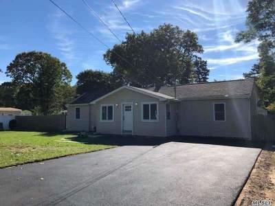 Centereach Single Family Home For Sale: 8 Oak St