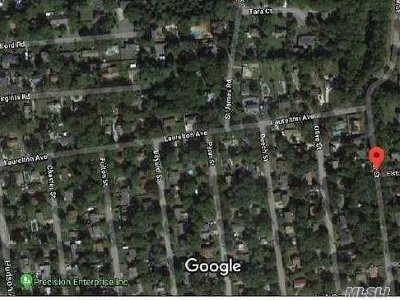 Lake Grove Residential Lots & Land For Sale: Walnut St