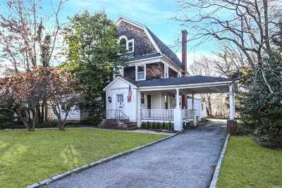 Rockville Centre Single Family Home For Sale: 160 Morris Ave