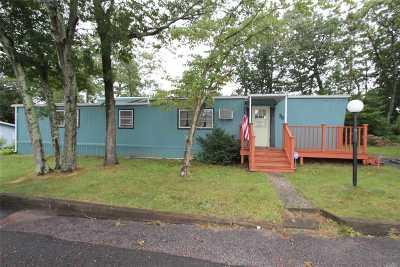 Calverton Single Family Home For Sale: 433-#75 Mill Rd