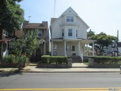 Woodhaven Multi Family Home For Sale: 89-06 91st Ave