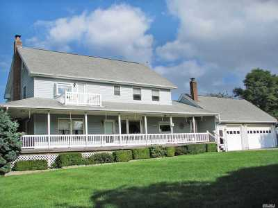 Mattituck Single Family Home For Sale: 2740 East Mill Rd