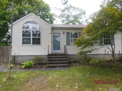 East Moriches Single Family Home For Sale: 6 County Rd 51