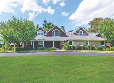 Roslyn Single Family Home For Sale: 81 Woodhollow Rd