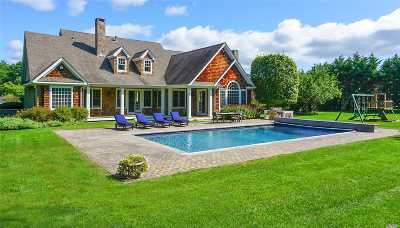 Quogue Single Family Home For Sale: 22 Post Fields Ln