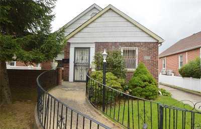 Flushing Single Family Home For Sale: 172-14 Effington Ave
