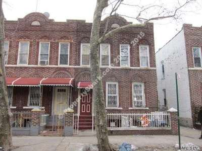 Brooklyn Multi Family Home For Sale: 356 E 96th St