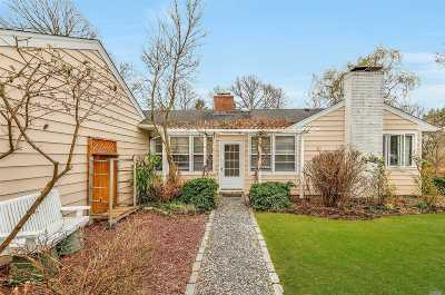 East Moriches Single Family Home For Sale: 90 Evergreen Ave