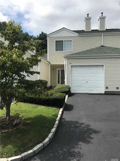 Manorville Condo/Townhouse For Sale: 311 Prairie Ct
