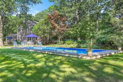 East Hampton Single Family Home For Sale: 110 Harbor Blvd