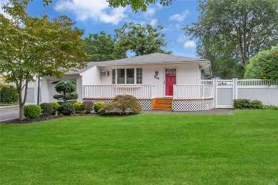 Hauppauge NY Single Family Home For Sale: $394,444
