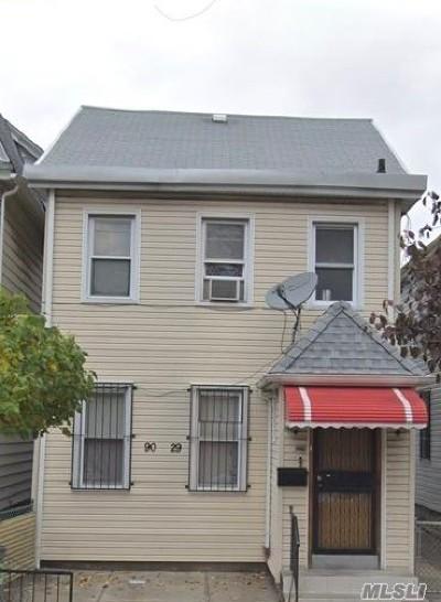 Elmhurst Multi Family Home For Sale: 90-29 53rd Ave