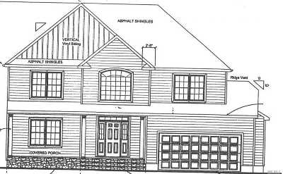 Centereach Single Family Home For Sale: William Lot 1 Ln