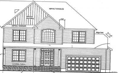 Centereach Single Family Home For Sale: William Lot 2 Ln