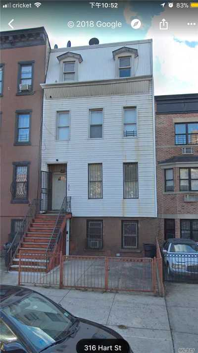 Brooklyn Multi Family Home For Sale: 316 Hart St