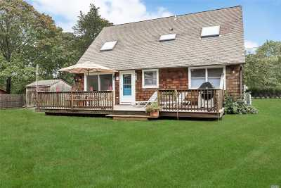 Hampton Bays Single Family Home For Sale: 26 Shinnecock Rd