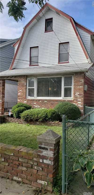 Ozone Park Single Family Home For Sale: 97-29 Linden Blvd