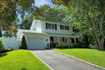 Hauppauge Single Family Home For Sale: 39 Eagle Ln