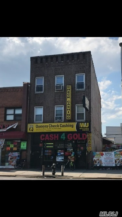 Queens County Commercial For Sale: 170-15 Jamaica Ave