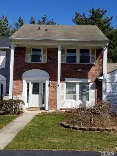 Coram Single Family Home For Sale: 10 Appomattox Ct