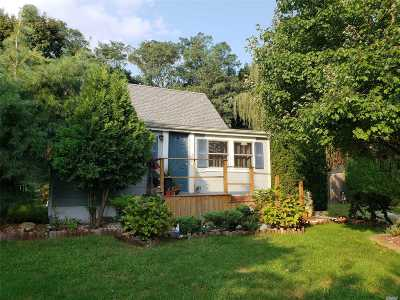 Wading River Single Family Home For Sale: 24 E Hill St