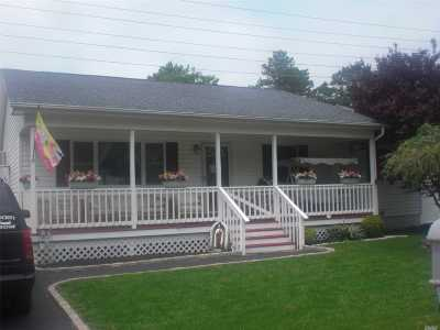 Single Family Home For Sale: 27 Moriches Middle Rd