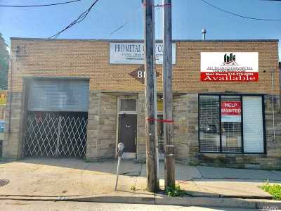Nassau County Commercial For Sale: 814 W Merrick Rd