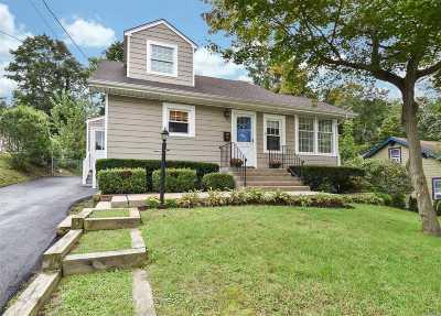 Huntington NY Single Family Home For Sale: $529,000