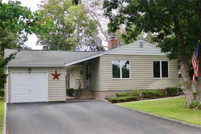 Centereach Single Family Home For Sale: 46 Virginia Rd