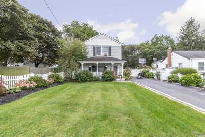 Patchogue Single Family Home For Sale: 146 Saxton St