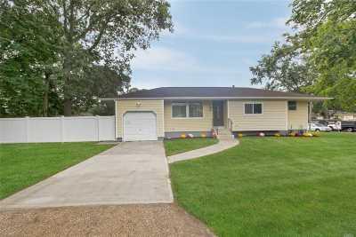 Selden Single Family Home For Sale: 36 King Ave