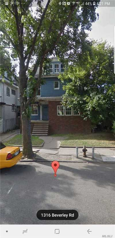 Brooklyn Multi Family Home For Sale: 1316 Beverley Rd