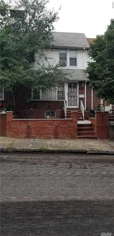 Jackson Heights Single Family Home For Sale: 30-56 87th St