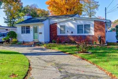 West Islip Single Family Home For Sale: 6 Gridley St