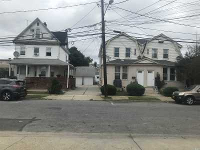 Nassau County Multi Family Home For Sale: 11-13, 15 Van Buren Ave