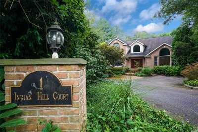 Dix Hills Single Family Home For Sale: 1 Indian Hill Ct